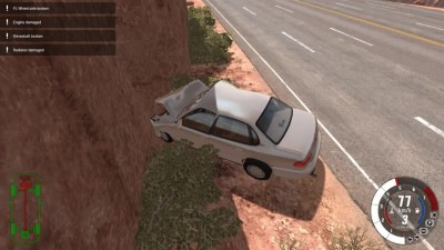 BeamNG.drive Early Access - Месим машины в хлам!