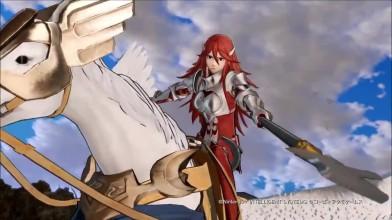 Fire Emblem Warriors - геймплейный трейлер персонажа Cordelia