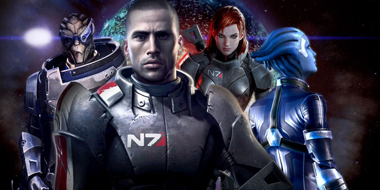 Трилогия Mass Effect будет переиздана