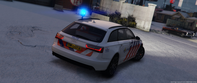Audi a6 Dutch Police