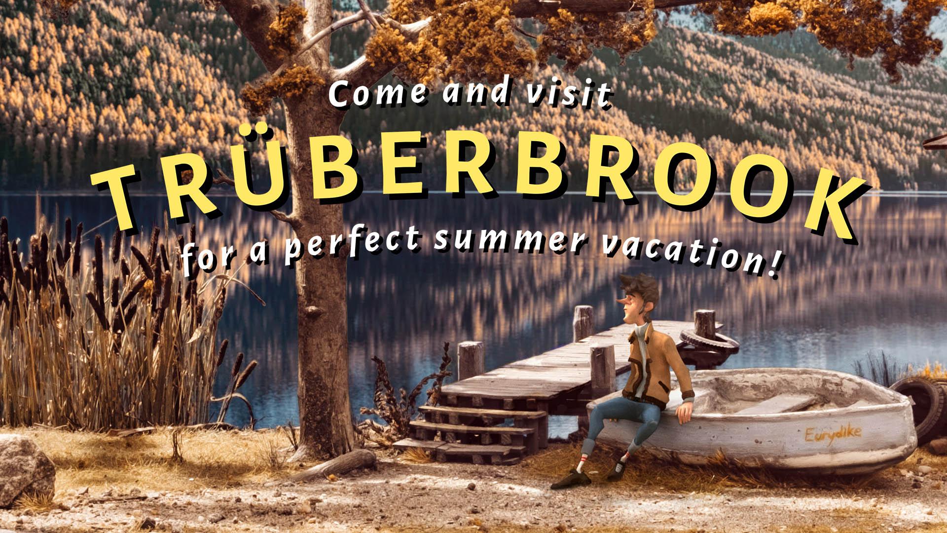 Видео игрового процесса научно-фантастической приключенческой игры Trberbrook - релиз уже завтра