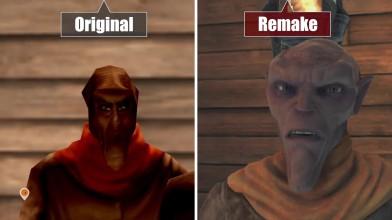 Сравнение графики Outcast: Second Contact - Оригинал vs Ремейка