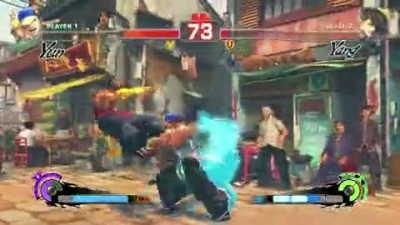"Super Street Fighter IV: Arcade Edition ""Геймплей Yun vs. Yang"""