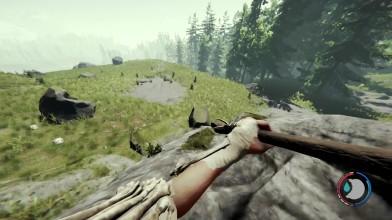 Спрятались на яхте от мутантов в игре The Forest