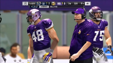 Madden NFL 17 - Los Angeles Rams vs Minnesota Vikings | Игровой процесс (HD)