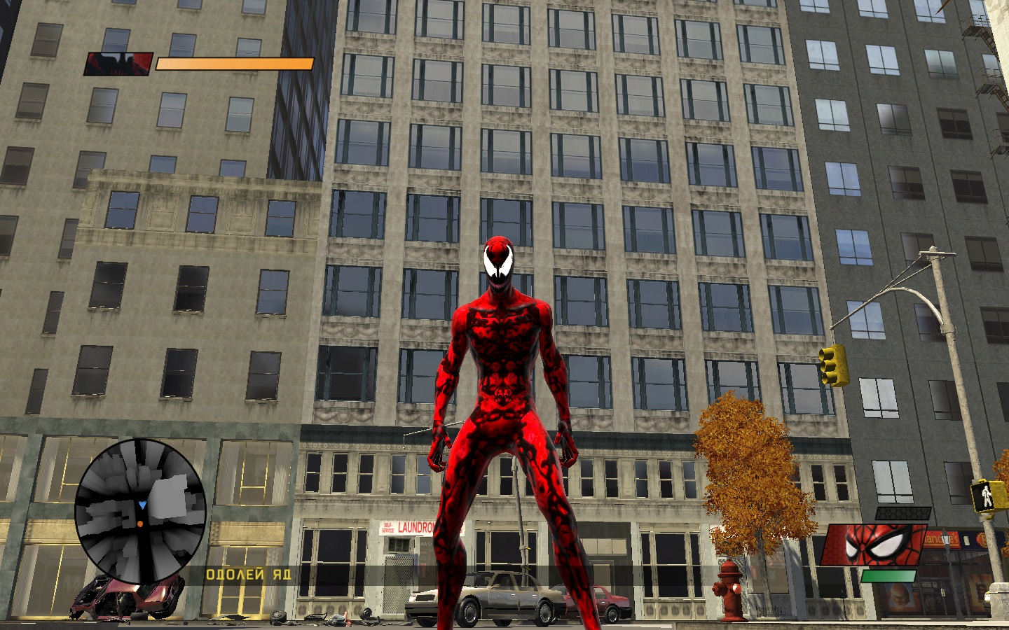 """Spider-Man: Web of Shadows """"global carnage symbiote mod ..."""