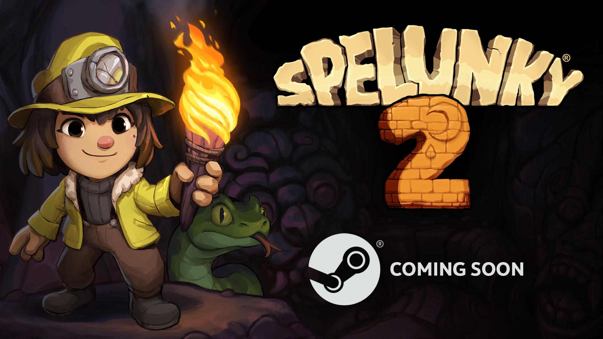 В Steam появилась страницы игры Spelunky 2