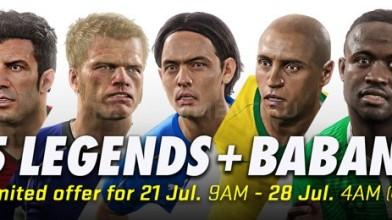 Легендарные игроки плюс Бабангида вновь доступны в режиме MyClub