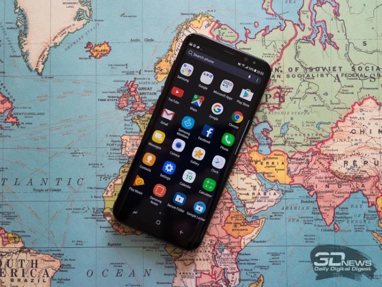 Самсунг Galaxy S8 продаётся медленнее предшественников