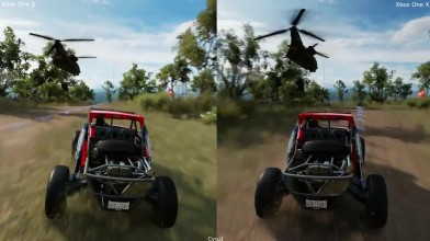 Сравнение графики - Forza Horizon 3 Xbox One S vs Xbox One X Enhanced