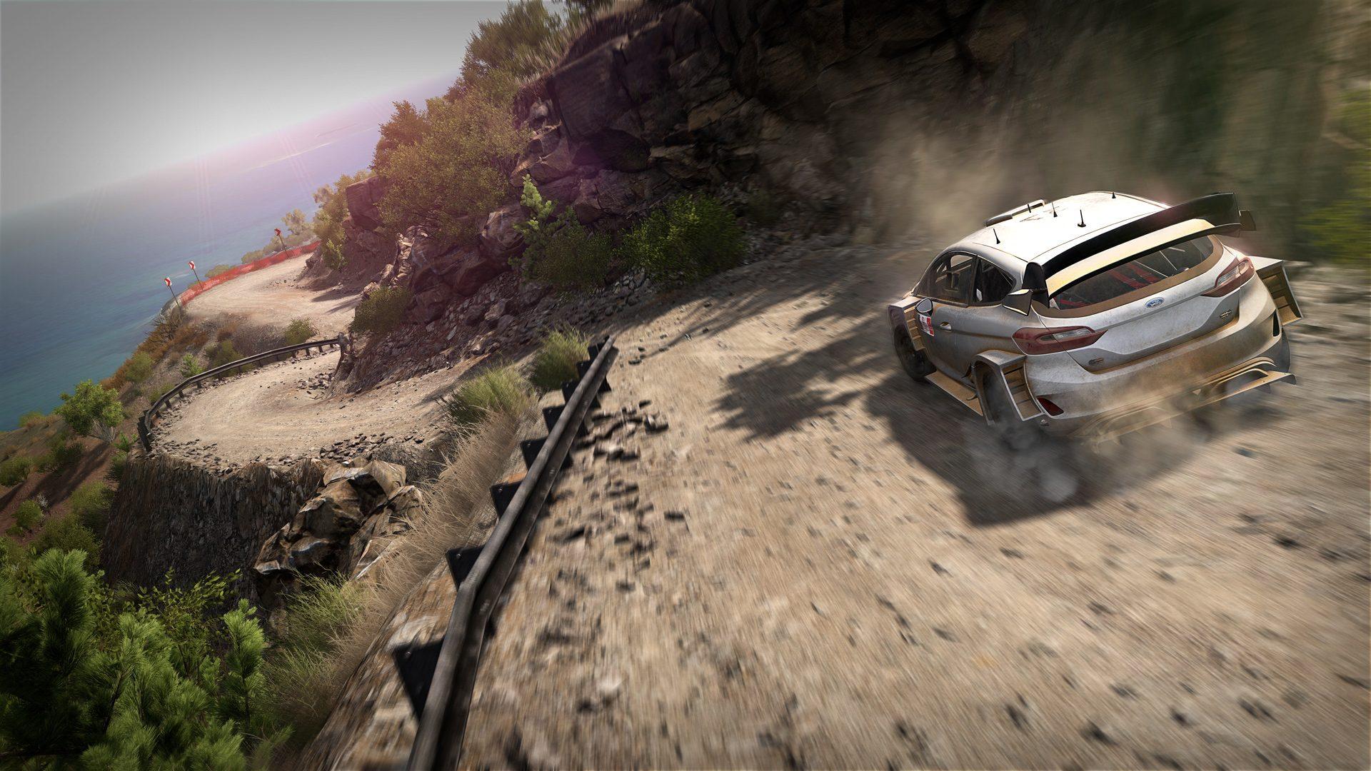 Дебютный геймплей раллийного симулятора WRC 8