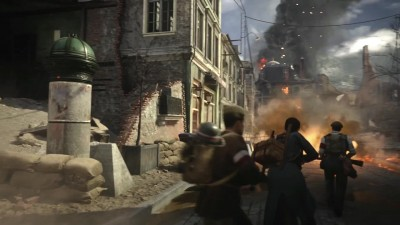 Трейлер дополнения The Resistance DLC 1 Call of Duty: WWII