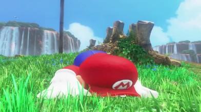 Левого джойстик не нужен для прохождения Super Mario Odyssey