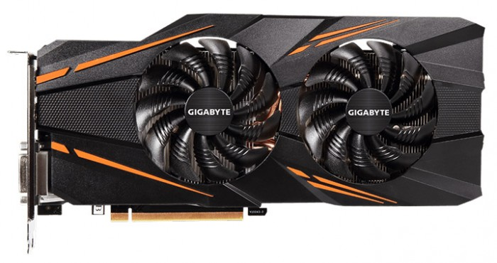 Видеокарта Gigabyte GeForce GTX 1070 WindForce OC