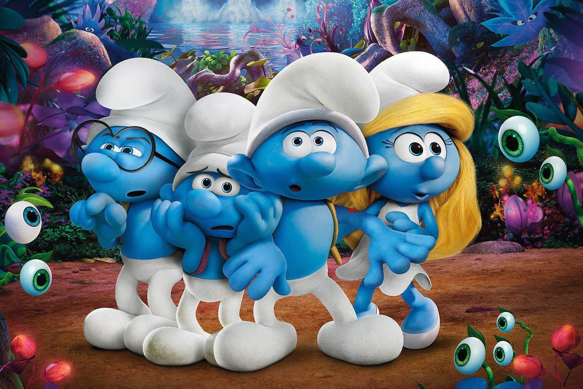 Microids анонсировала игру Smurfs