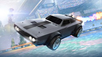 "Вышло дополнение ""The Fate of the Furious - Ice Charger"" для Rocket League"