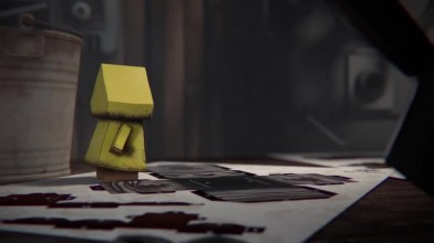 Little Nightmares. Трейлер Papercraft Story
