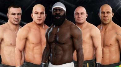 EA Sports UFC 3 пополнилась пятью легендарными бойцами
