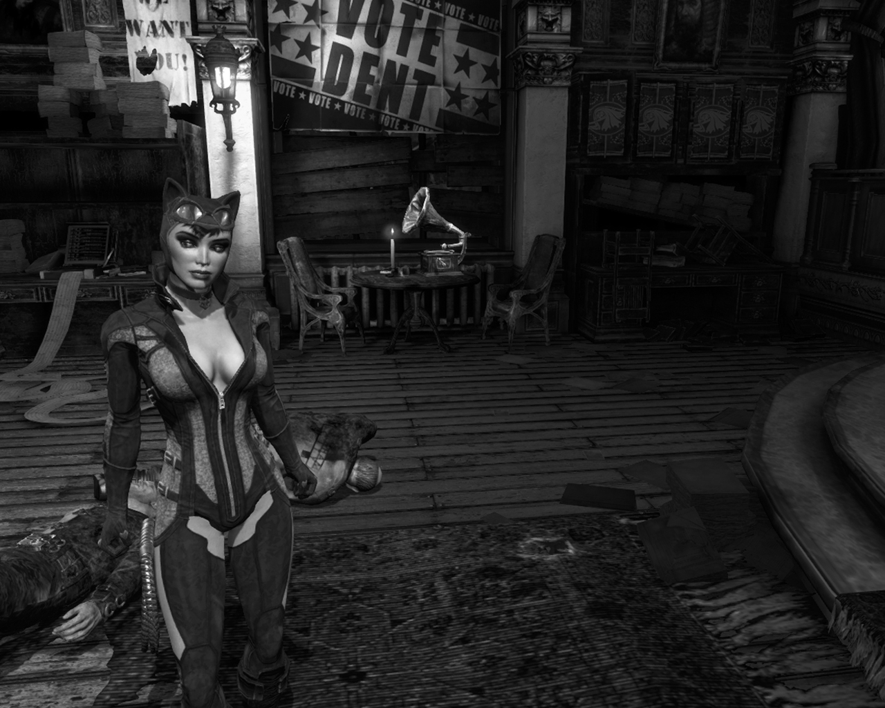 Catwoman arkham city unzipping her suit xvideos fucking extreme slave