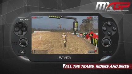 "MXGP ""PLAYSTATION VITA геймплей."""