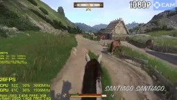 Kingdom Come Deliverance 1.2 - GT 1030 - 1080p - 900p - 720p - i3 6100
