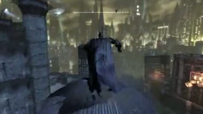 "Batman: Arkham City ""Open World: Flying Gameplay"""
