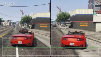 Grand Theft Auto 5: Patch 1.09 PS4 vs Xbox One тест кадров в секунду