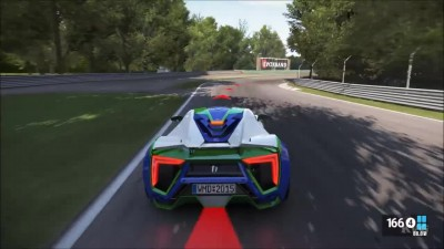 Project CARS W Motors Lykan Hypersport - Тест-драйв Геймплей (PC HD)