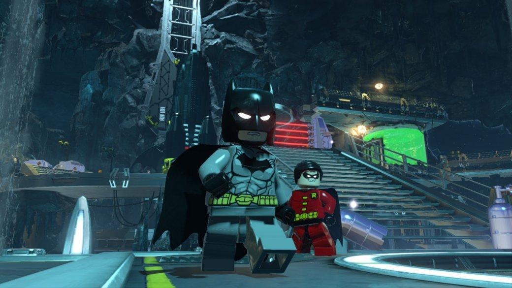 Лего бэтмен 3 прохождение