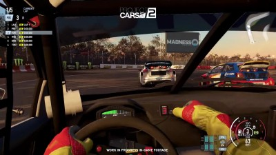 Project CARS 2 - E3 2017, Honda Civic GRC, Loheac (Вид из кабины)