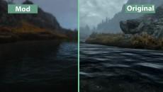 """TES 5: Skyrim""""Детальное сравнение на PC - Ultra Realistic Overhaul Mod Collection vs. Vanilla Comparison"""""""