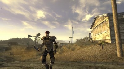 Мы ищем пушки! Fallout: New Vegas Lonesome Road