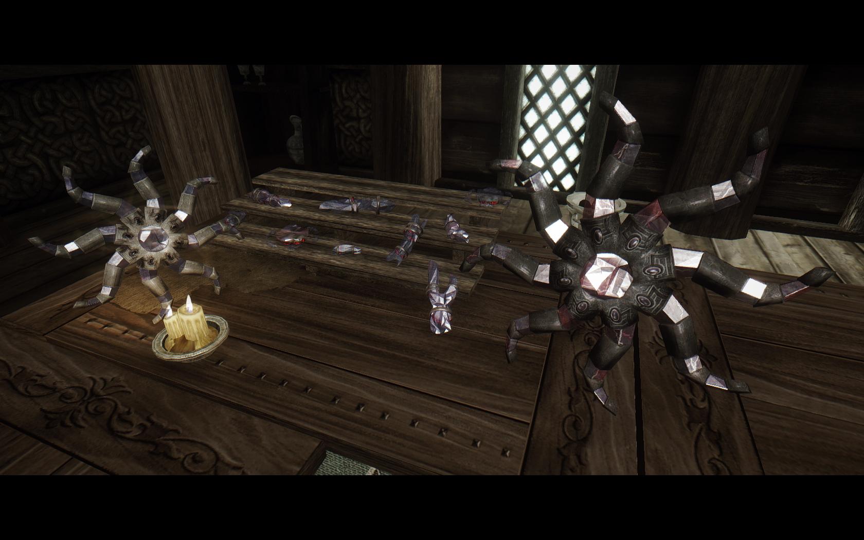Elder Scrolls 5 Skyrim Анимации Nibbles для SexLab