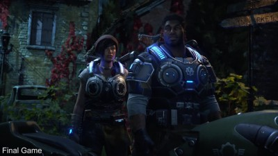 Gears of War 4 Сравнение релизный билд vs демо Е3 2015 (Digital Foundry)