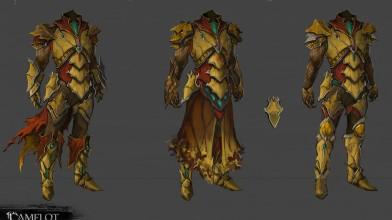 Новые концепт-арты брони и оружия Camelot Unchained