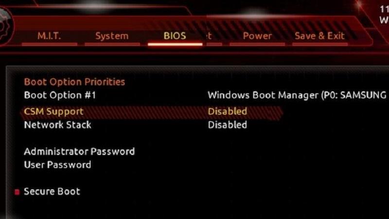 Intel объявила оскором прекращении поддержки Bios