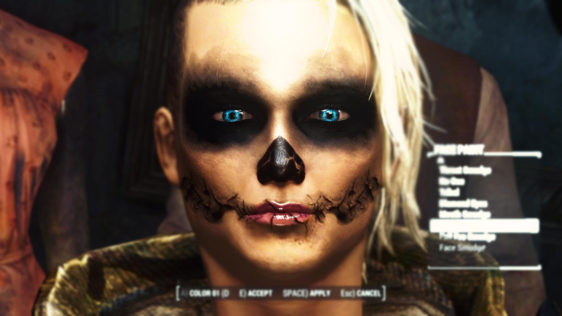 Fallout 4 разные прически mischairstyle 1 6