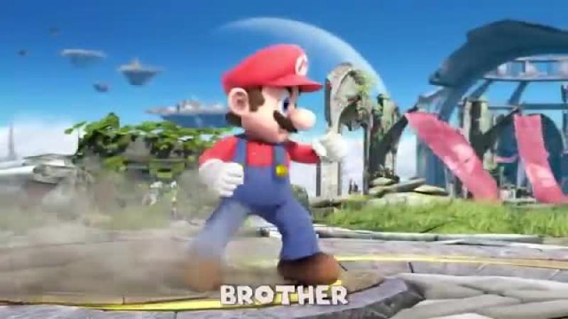 Super Smash Bros  RAP BATTLE - Dan Bull vs VI Seconds