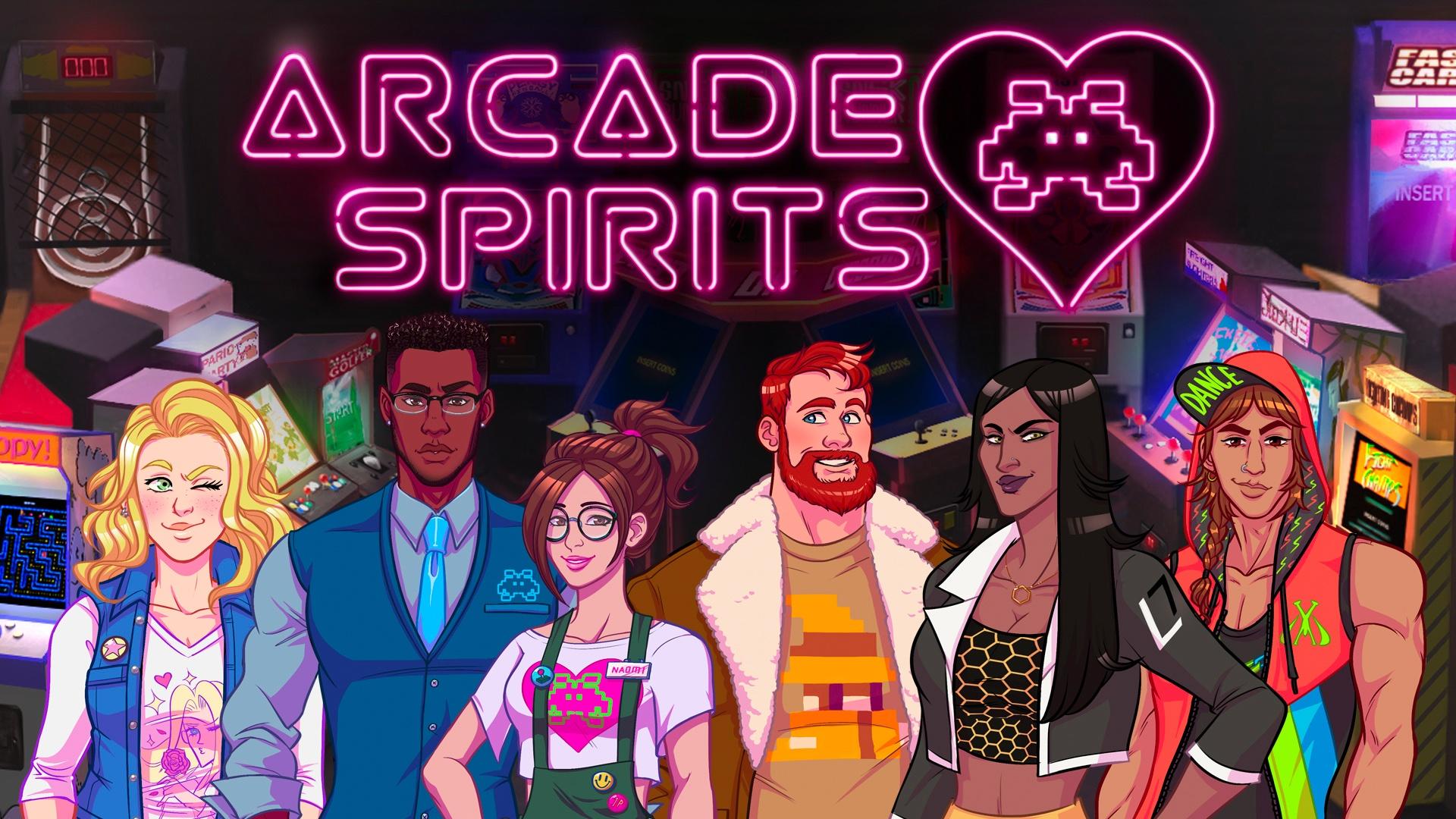 Романтическая визуальная новелла Arcade Spirits выйдет на Switch в мае