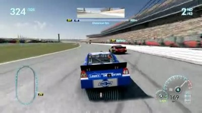 "NASCAR The Game: Inside Line ""Challenges Trailer"""