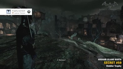 Batman Return to Arkham Asylum - Загадки Риддлера - Остров Аркхэм Север