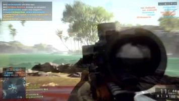 Gameplay CS-LR 4 Recon Battlefield/ Снайпер CS-LR 4 Battlefield
