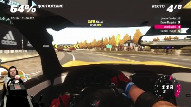 Злой Corvette и Evo X нагибатор - Forza Horizon на Xbox One + руль Fanatec CSL Elite