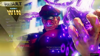 Street Fighter V - M. Bison Arcade Mode