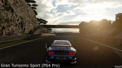 Сравнение GT Sport vs Forza 7 vs Project CARS 2