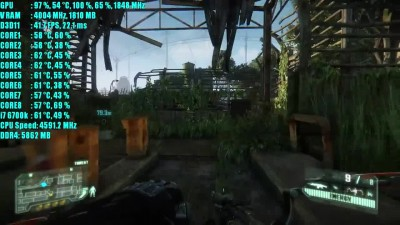 Crysis 3 GTX 1050 Ti OC - 1080p - 900p - 720p Very High Settings