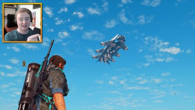 Геймплей Just Cause 3 Sky Fortress - Часть 1