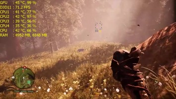 Far Cry Primal - GTX 750 ti
