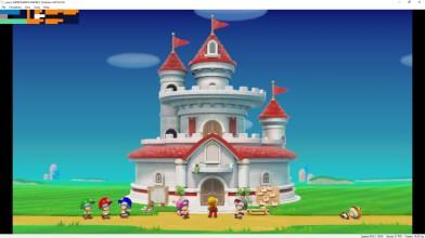 Геймплей Super Mario Maker 2 на эмуляторе Yuzu