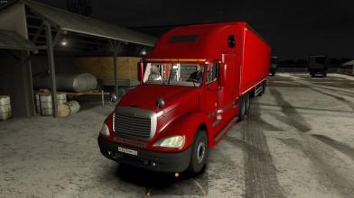 Euro Truck Simulator 2 - Обзор Freightliner Columbia